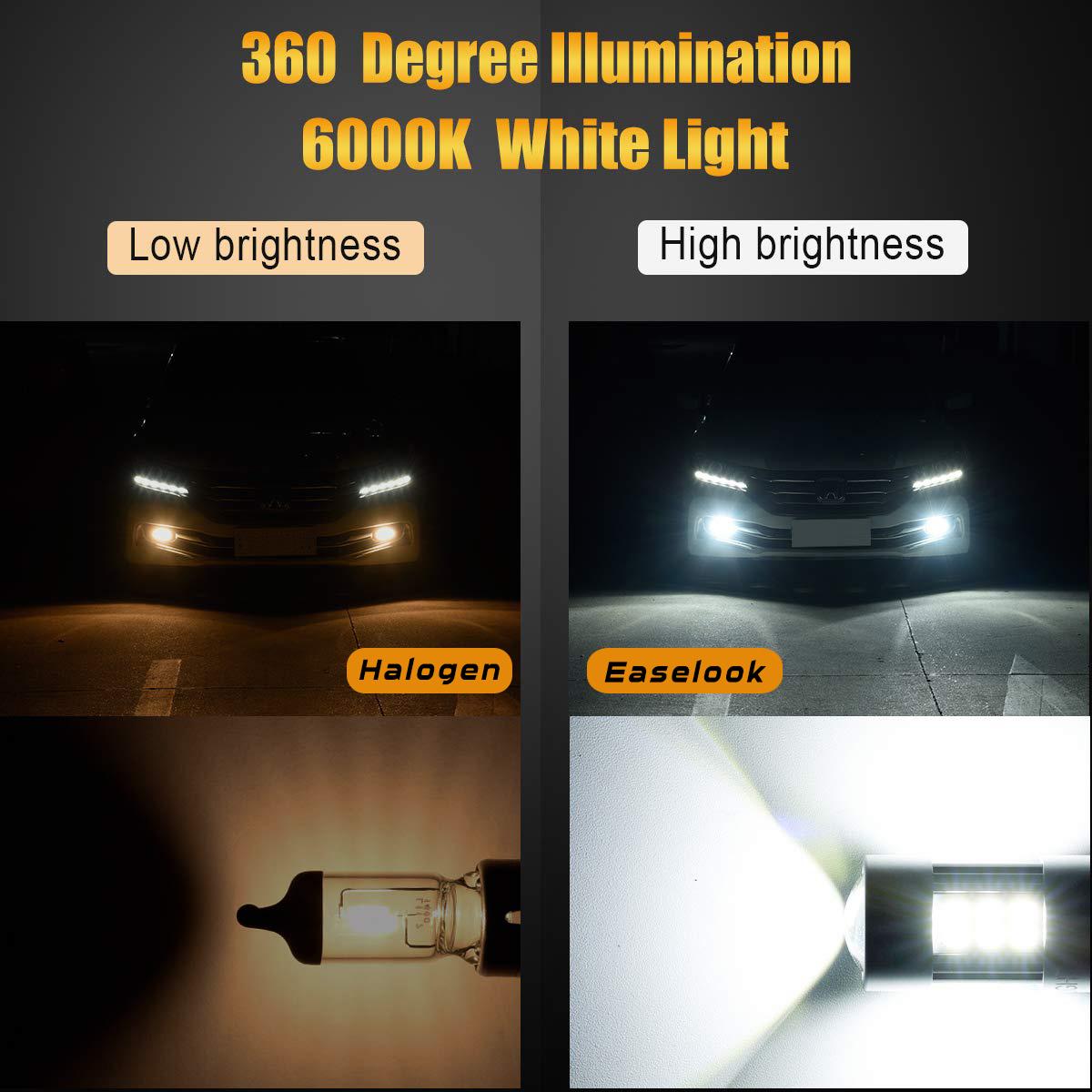 D2 Series Daytime Running Light Bulbs | DRL Lamp Bulbs | 5201 | 5202 | 9145 | 9140 | H10