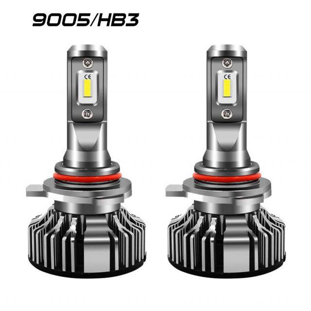 Easelook - 9005 LED Headlight Bulbs   HB3 Headlight Bulbs   High Performance   Adjustable