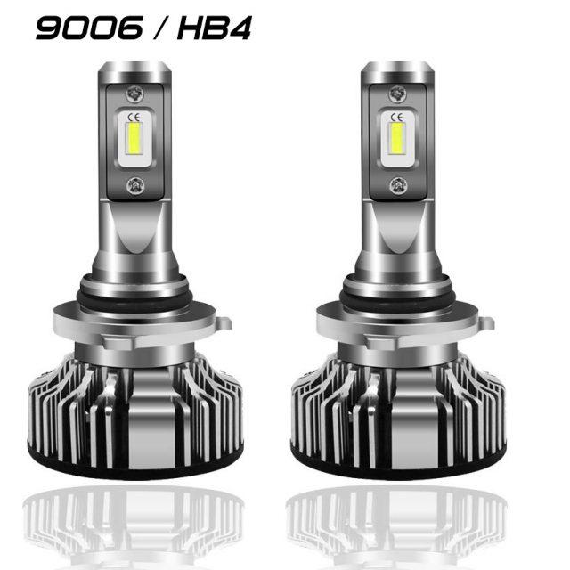 Easelook - 9006 LED Headlight Bulbs   HB4 Headlight Bulbs   High Performance   Adjustable