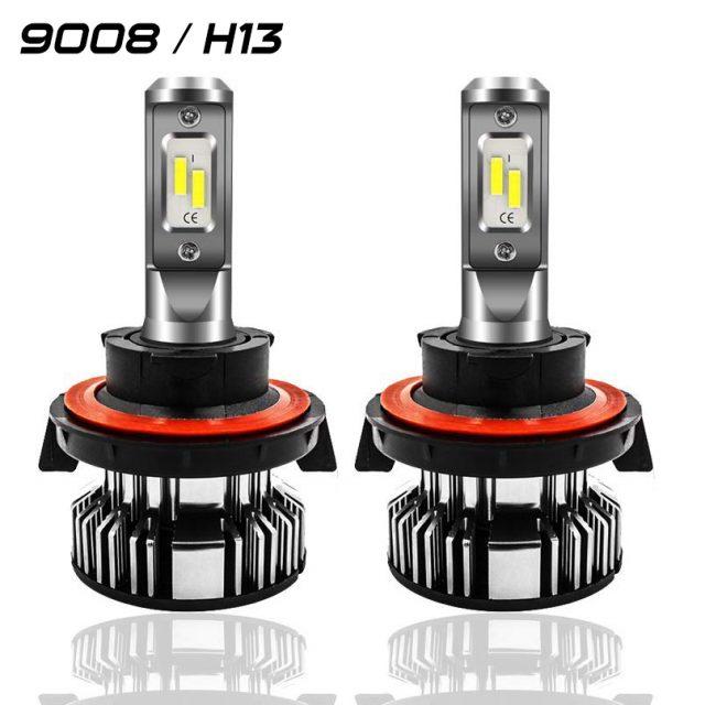Easelook - 9008 LED Headlight Bulbs   H13 Headlight Bulbs   High Performance   Adjustable   Hi-Lo Beam
