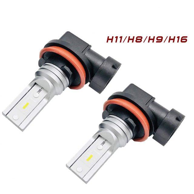 Easelook D1 Series H11 Daytime Running Light Bulbs | H8 DRL Bulbs | H9 | H16