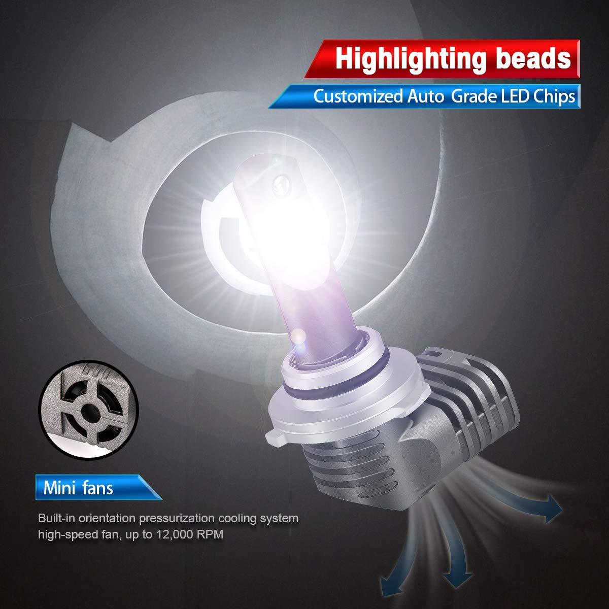 Easelook LED Headlight Bulbs Factory - 9003(H4/HB2), 9004(HB1), 9007(HB5), 9008( H13). Single Beam: H7, H11(H8/H9/H16), 9005(HB3), 9006( HB4), 9012(HIR2), H1, H3 etc